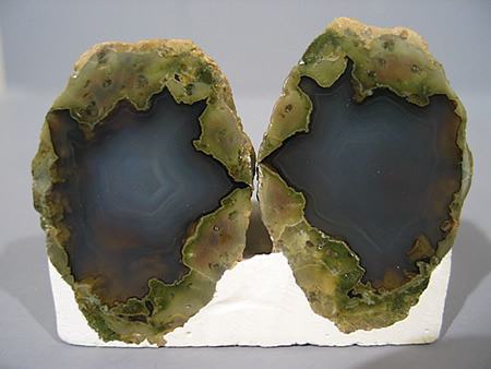 Agate nodule, Newberry, San Bernardino Co., California