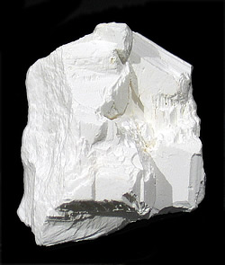 Tincalconite (TL) pseudomorph of Borax, Baker mine/U.S. Borax Mine, Kramer Borate deposit, Boron, Kramer District, Kern Co., California